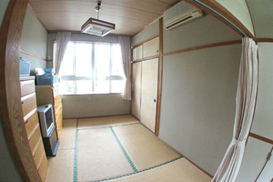 つくしの里の居室